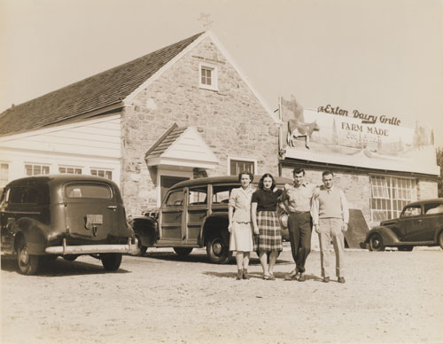 The Exton Dairy Grille ca. 1931