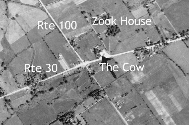 Exton, PA Crossroads in 1937