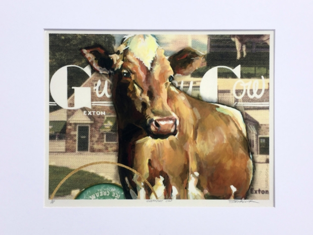 Limited Run Guernsey Cow PrintsAvailable